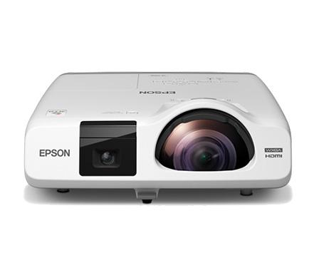 Epson 536i short throw projector