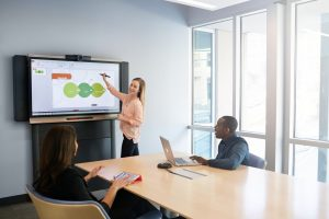 interactive flat panel for office