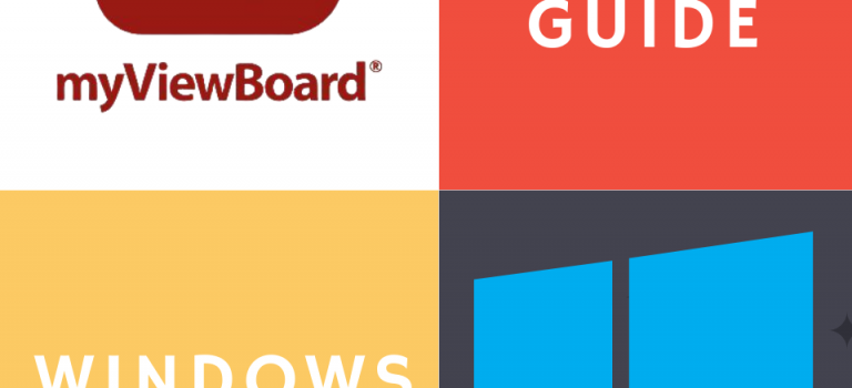 Training Guide for Myviewboard whiteboard software